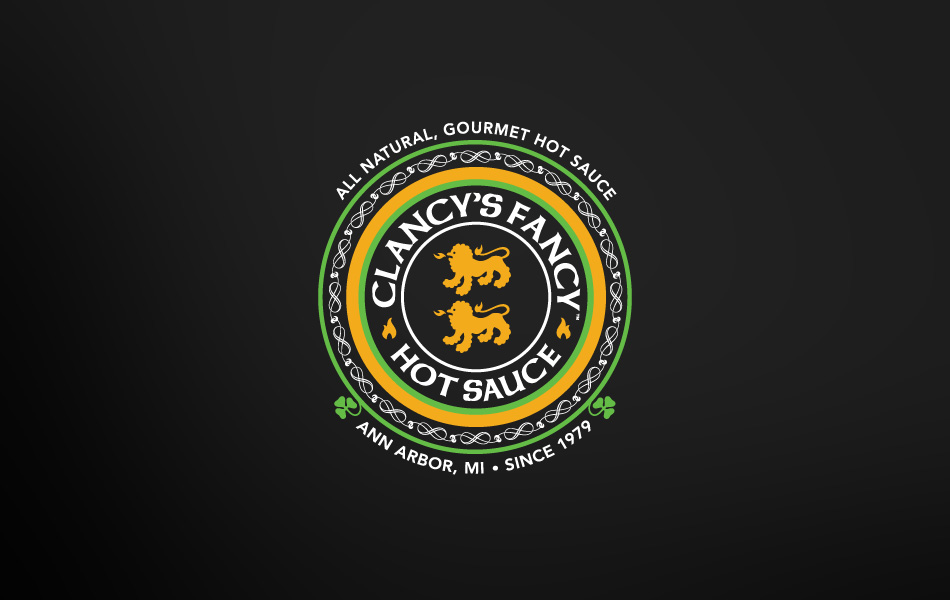 Sauce Logo Fancy Hot Sauce Logo